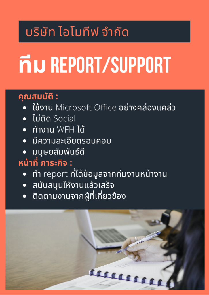 Report/Support Team